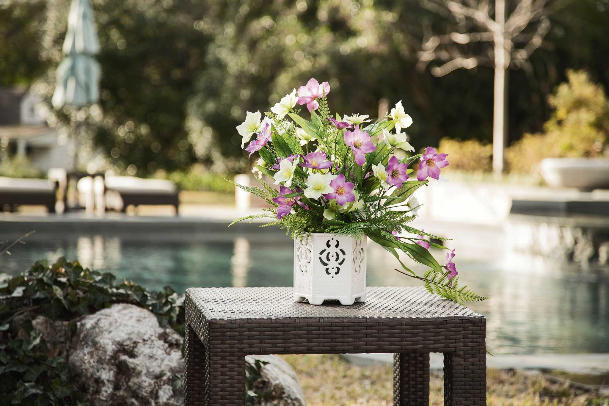 Faux Flowers And Plants Can Liven Up Home Houston Chronicle