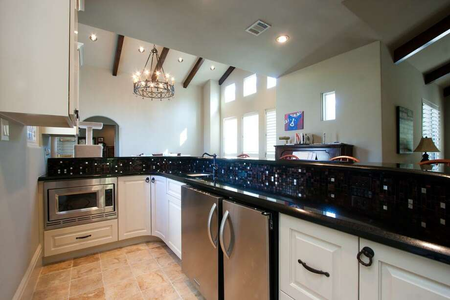 The home features five bedrooms and six and half bathrooms in more than 9,300 square feet of living space. The asking price is $3.85 million. 