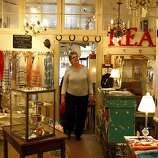 """San Francisco  Timeless Treaures: Owner Joan O'Connor selects every item with love, and many collectibles spell it out, including charm bracelets and porcelain china from La Petite Di Paris bearing the word """"amour."""" To personalize a gift, home or outfit, the store offers typewriter cuff links by Nell Benscoat, Cards by Dutch Door Press and foot-tall marque letters from old local theaters. 2176 Sutter St., (415) 775-8366. www.timelesstreasuressf.com"""