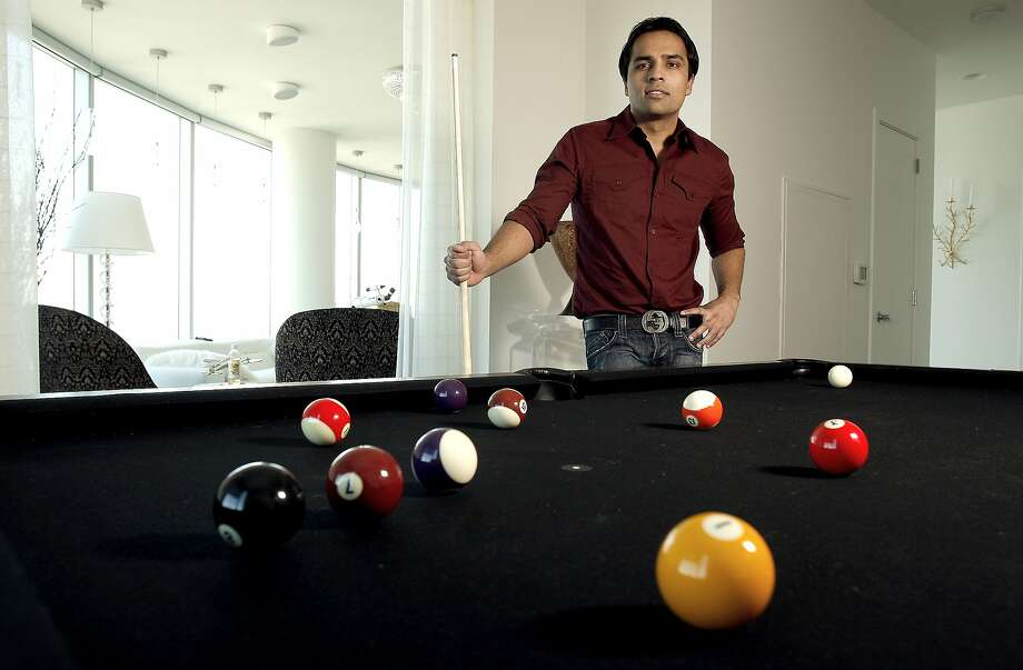 Gurbaksh Chahal in his San Francisco high-rise penthouse in downtown San Francisco, Calif. on Friday Oct. 17, 2008. Chahal is the San Jose internet entrepreneur who made a company as a teenager and sold it to Yahoo for $300 million a few years ago. He has a book coming out on Oct. 23 and will appear on Oprah the same day. Photo: Michael Macor, The Chronicle