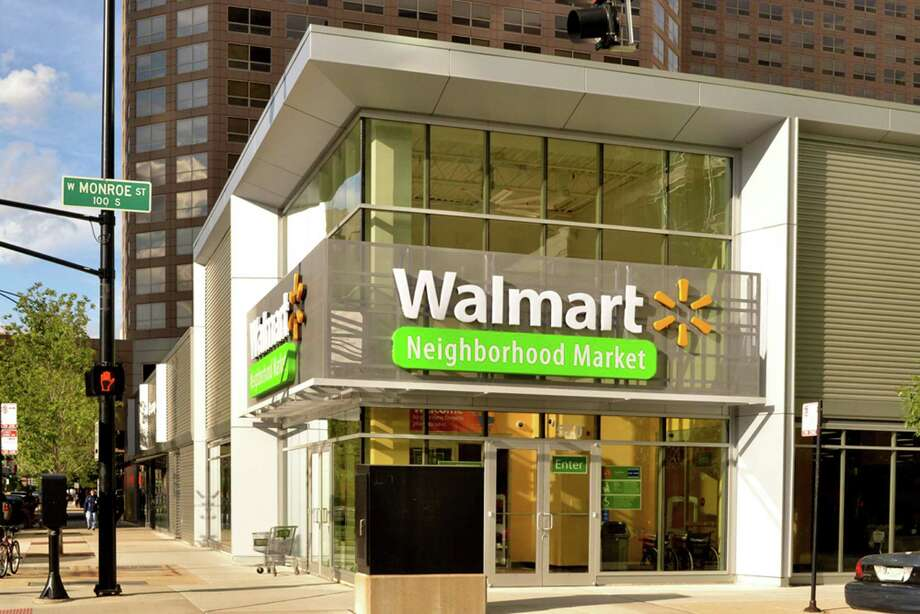 Walmart has opened its smaller format, grocery-focused Neighborhood Market store in downtown Chicago. Photo: Courtesy Walmart Stores Inc.