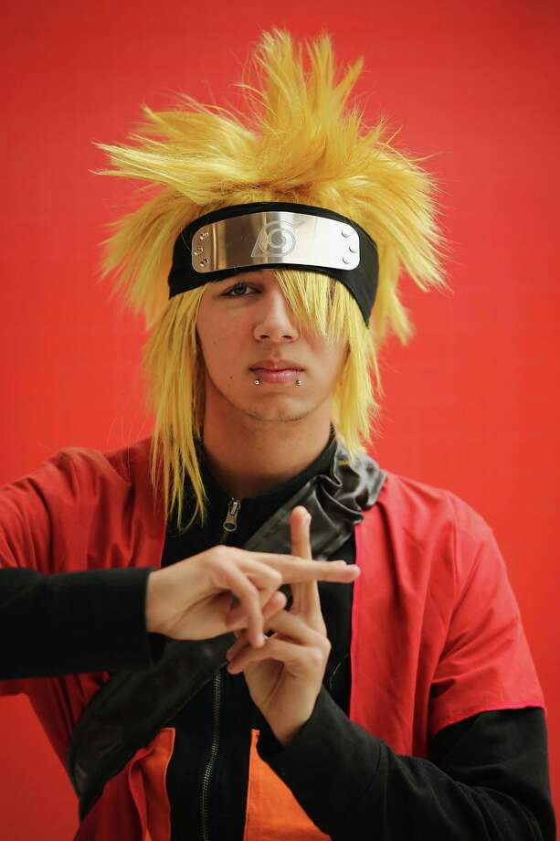 "An anime fan dresses up as Naruto Uzumaki from the Japanese comic series ""Naruto."" Photo: Dan Kitwood, Getty Images / 2012 Getty Images"