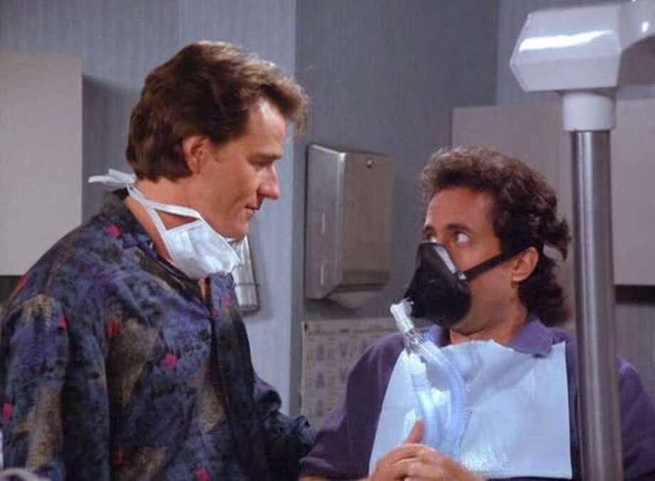 "Anti-dentite:A person who discriminates against dentists.— ""The Yada Yada,"" season 8, episode 19"