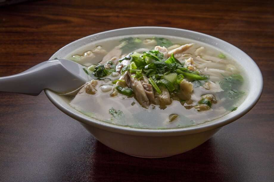 The #9 Chicken Noodle Pho at Turtle Tower in San Francisco. Photo: John Storey, Special To The Chronicle