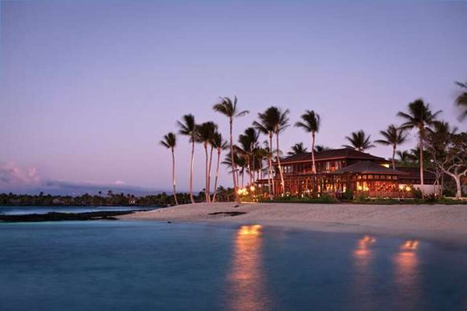 Ulu Ocean Grill and Sushi Lounge in the Four Seasons Hualalai (pictured) is one of only two Hawaii restaurants on the list; Open Table diners also honored Sarento's Top of the 'I' in Honolulu. Photo: Open Table