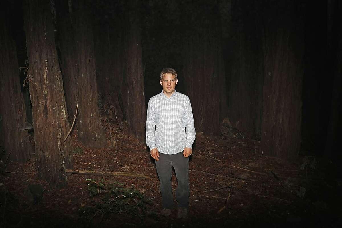 University of California Santa Cruz Associate Professor of Environmental Studies Chris Wilmer poses for a portrait on the UCSC campus in Santa Cruz, Calif. on June 24, 2013.