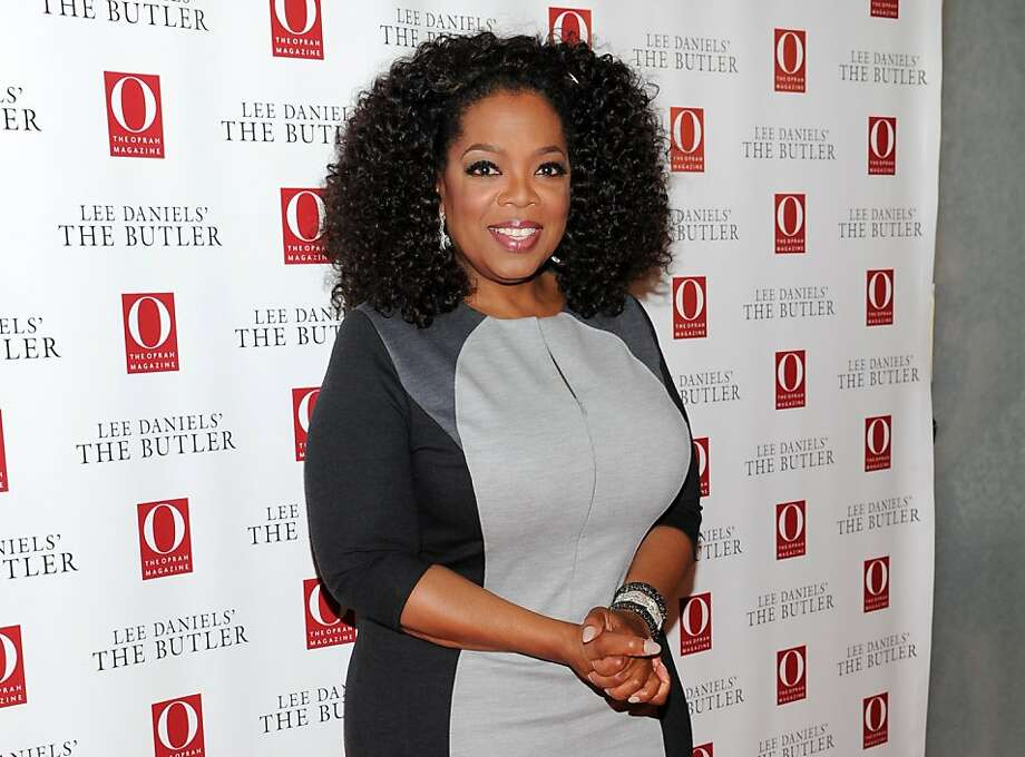 Oprah Winfrey wanted to see a pricey bag at a boutique. Photo: Evan Agostini, Associated Press