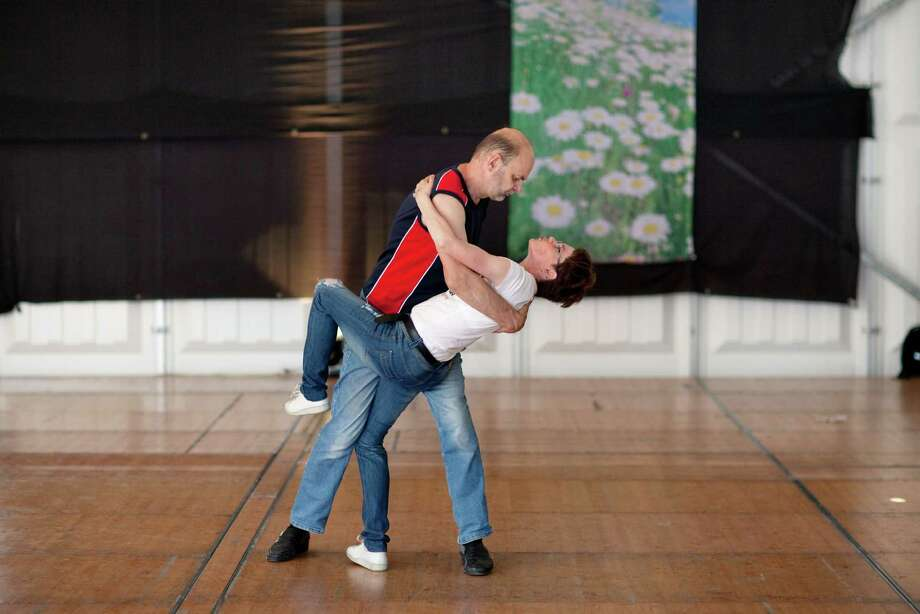 Check yourself before you wreck yourself. Make sure you have enough space and experience before you attempt jumps and spins. It can lead to collisions and pain - for you and other couples. Guys, learning to lead while on a crowded dance floor is not a good plan - practice the steps off the floor first. Photo: TOUKO HUJANEN, New York Times / NYTNS
