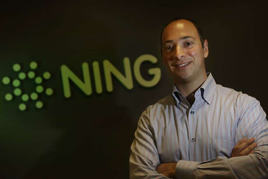Ning CEO Jason Rosenthal is seen at the Ning offices in Palo Alto, Calif. on Wednesday August 11, 2010. Photo: Lea Suzuki, The Chronicle