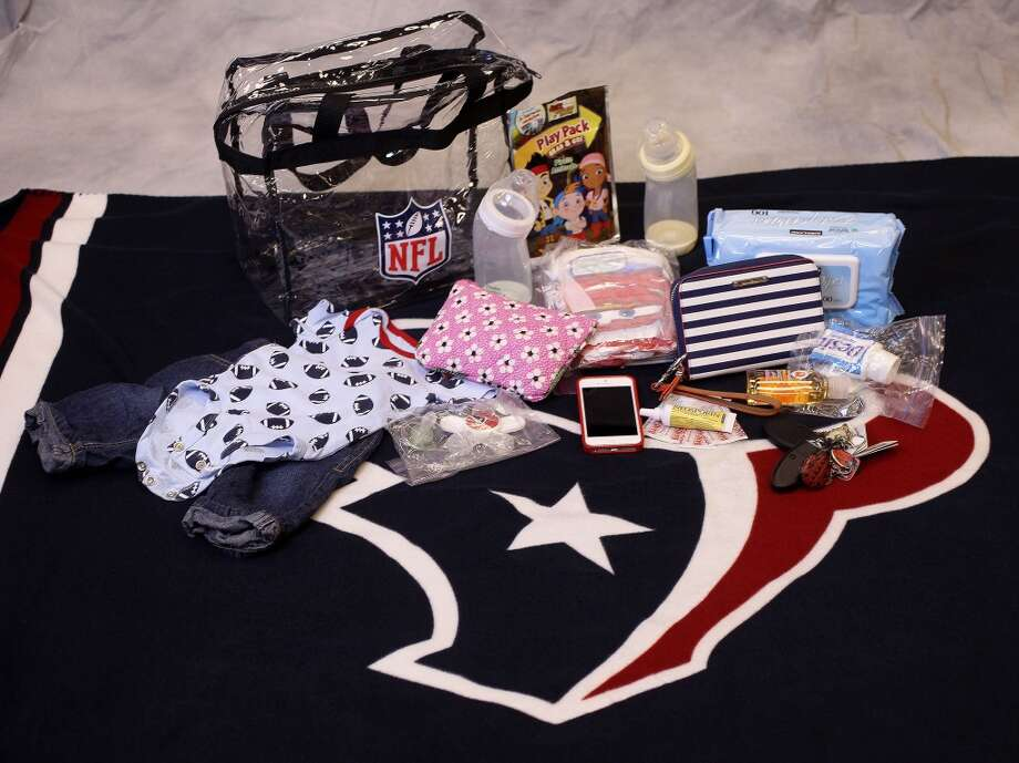 Necessities for the little one. Photo: ( Karen Warren / Houston Chronicle )