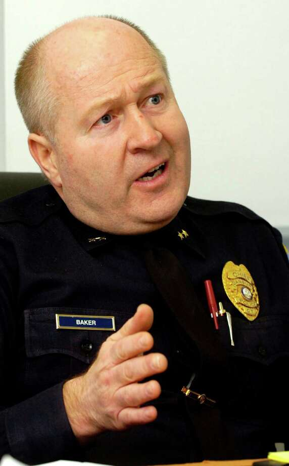 Danbury Police Chief Al Baker Photo: File Photo/ David W. Harple, ST / The News-Times File Photo
