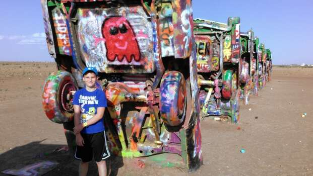 Cadillac Ranch!