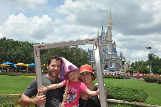 Family fun at Magic Kingdom, Disneyworld in Orlando Florida.