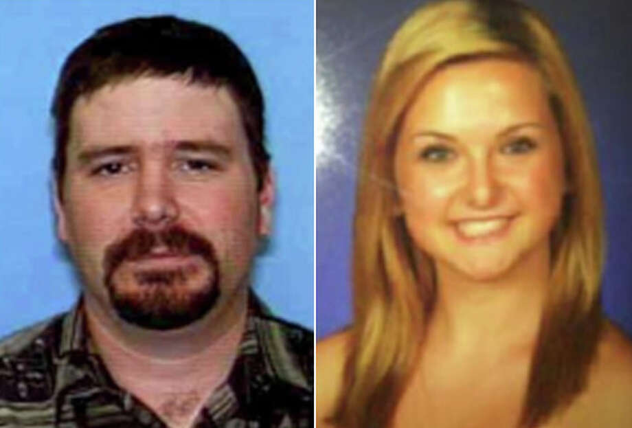 This composite photo released by the San Diego Sheriff's Department shows James Lee Dimaggio, 40, left, and Hannah Anderson, 16, whose mother, Christina Anderson, 44, was one of two people found dead in a house fire Sunday night. An Amber Alert was in effect early Tuesday Aug. 6,2013  for the two missing children of Christina Anderson, whose body was found inside a burned rural house near the U.S.-Mexico border, and authorities said  Dimaggio, suspected of killing the woman may have abducted the children. Photo: San Diego Sheriff's Department