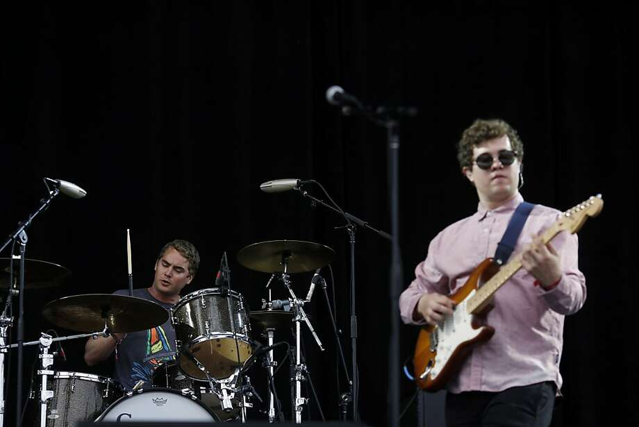 The band Surfer Blood plays the Lands End stage during the first day of the Outside Lands music festival in Golden Gate Park in San Francisco, Calif. on August 9, 2013. Photo: Ian C. Bates, The Chronicle