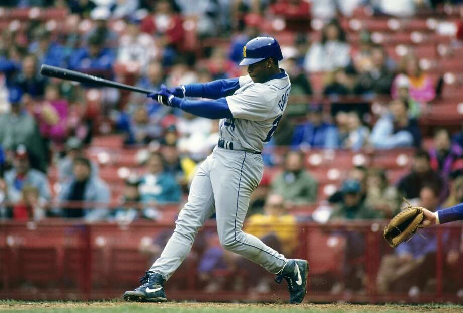 His glorious swing, seen here circa 1990.