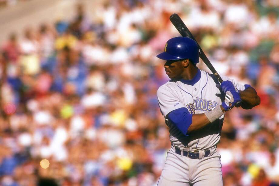 Back in Baltimore, where Getty Images apparently took a lot of photos of Junior early in his career. This photo is dated Sept. 5, 1990.  Photo: Mitchell Layton, Getty Images