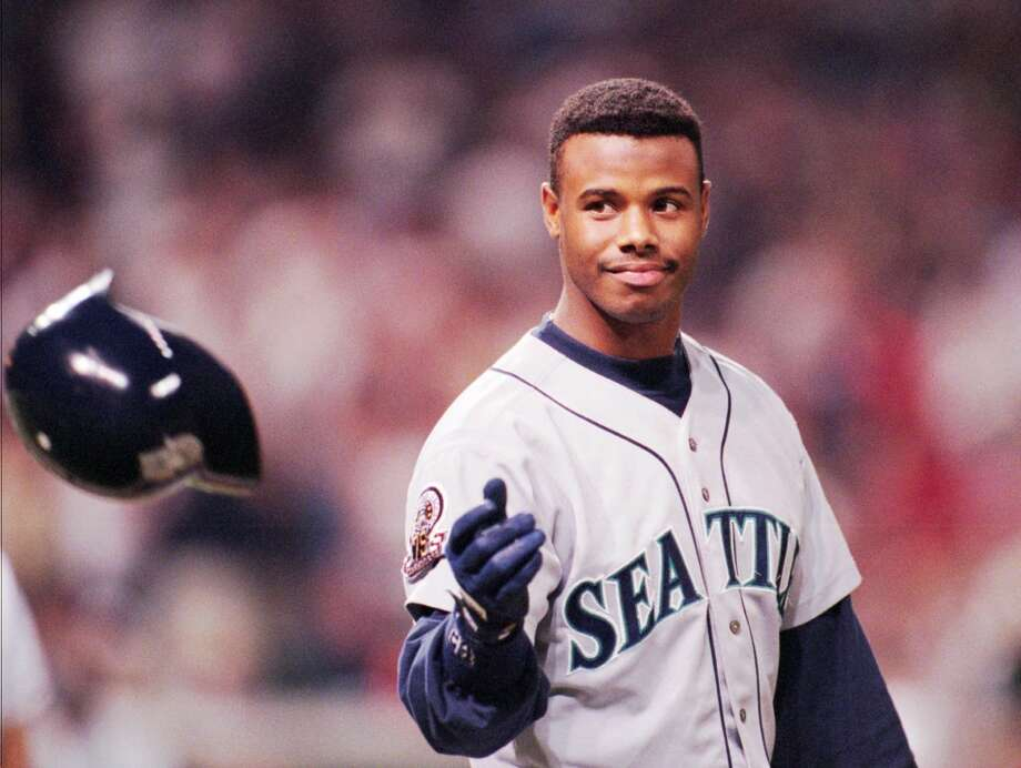 Griffey in 1995, before he got hurt.  Photo: Seattle P-I Archives