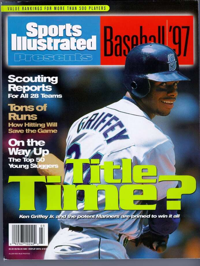 Griffey on the cover of Sports Illustrated's March 7, 1997, issue.
