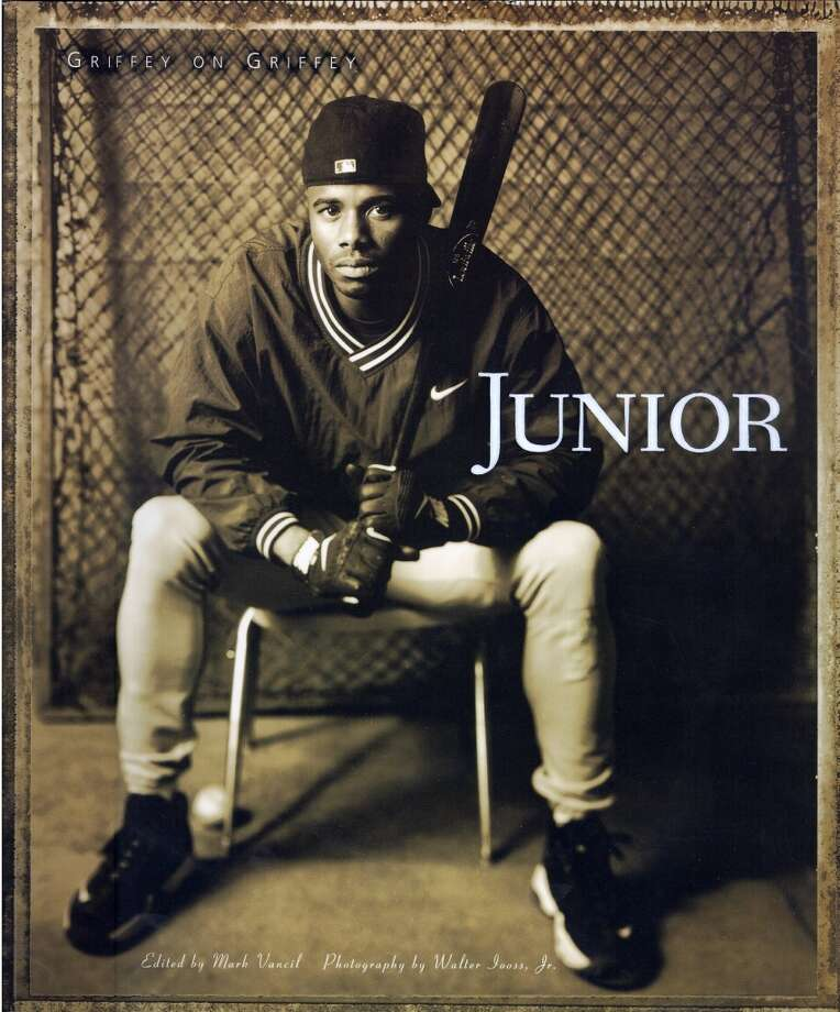 In April 1997, Griffey released an autobiography titled ''Junior,'' co-authored by Mark Vancil  and Walter Iooss.