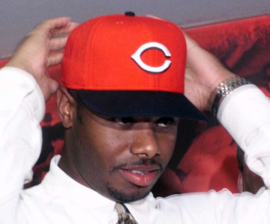 On Feb. 10, 2000, after months of deadlocked trade talks, the Mariners and Cincinnati Reds reached a deal to trade them Griffey in return for four players. Seattle got Mike Cameron, Brett Tomko, Antonio Perez and minor-leaguer Jake Meyer in the transaction.