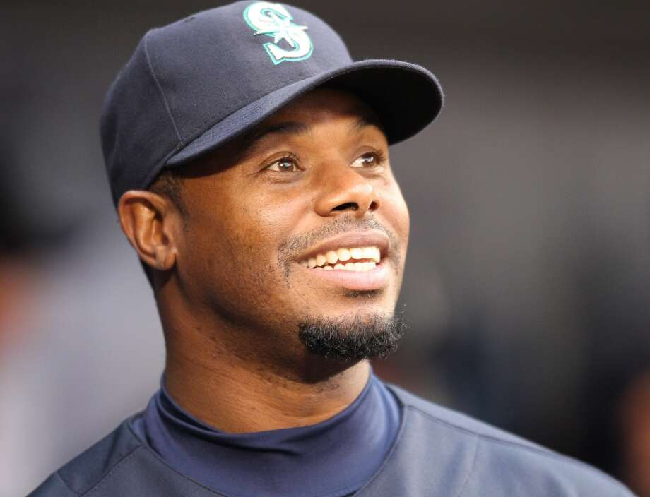 Junior smiles in the dugout before a game against the Texas Rangers on April 30, 2010, at Safeco Field. But he wasn't particularly happy back with the Mariners, butting heads with manager Don Wakamatsu and reportedly even falling asleep in the clubhouse during a game in May.