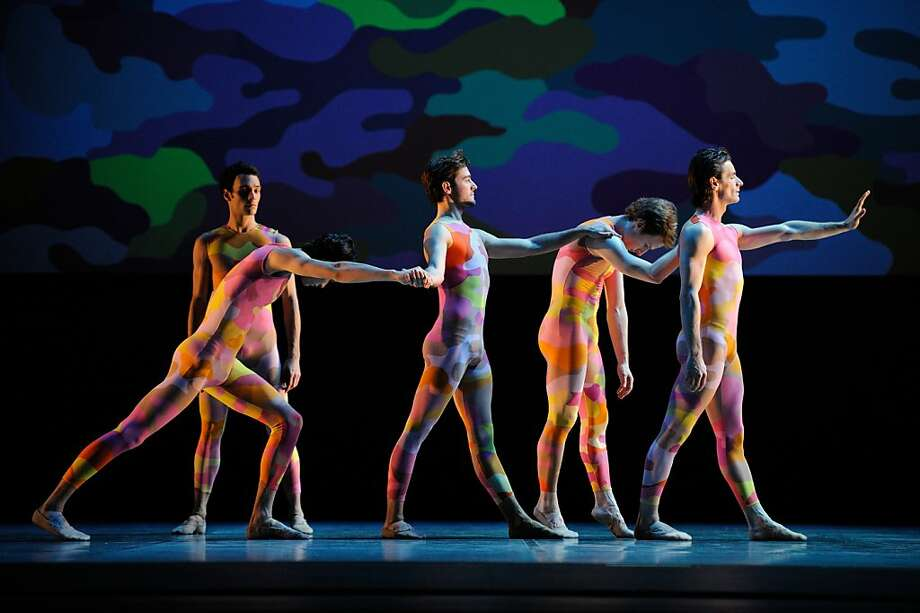 """The San Francisco Ballet performs Mark Morris' """"Beaux,"""" one of five programs it will take to New York's Lincoln Center. Photo: Erik Tomasson"""