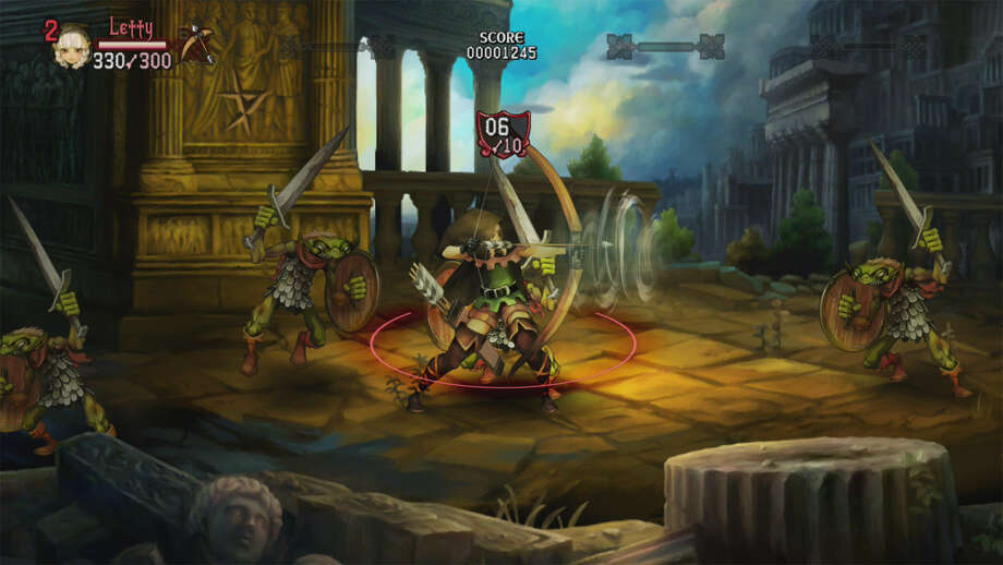 """Dragon's Crown"" takes beautiful 2-D art and incorporates it into a quirky 2-D side-scrolling RPG that features hours of game play. The visuals are appealing despite the old-school technology. Photo: Photos Courtesy Of Atlus"