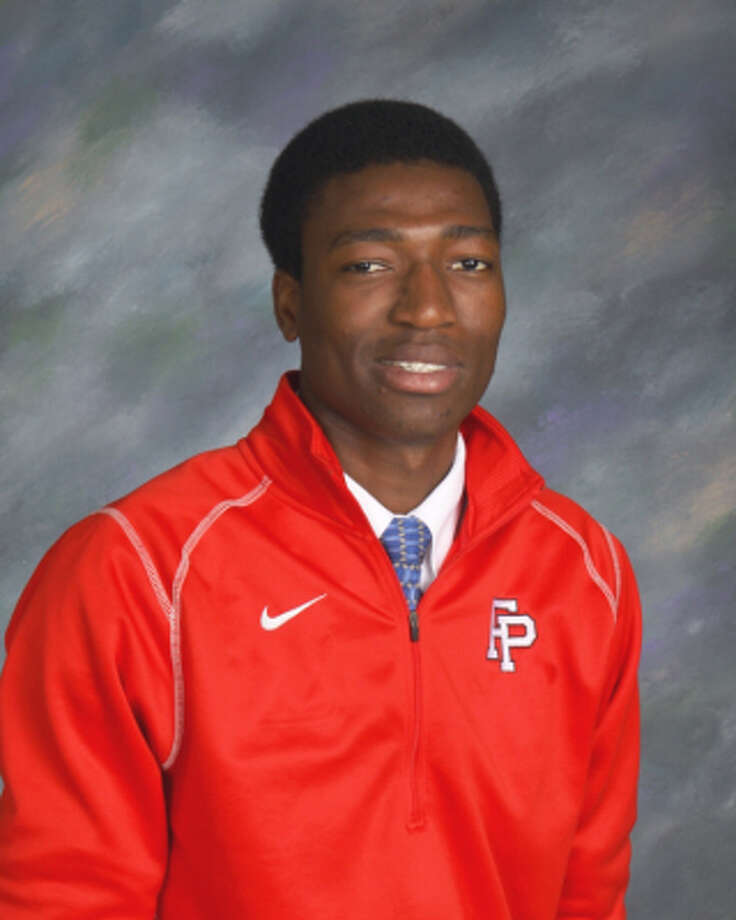 Paschal Chukwu, Fairfield Prep hockey. High school all star, winter 2012-2013. Photo: Contributed Photo