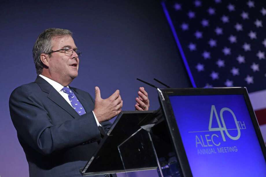 In a speech to the American Legislative Exchange Council, Jeb Bush said sweeping educational changes are needed. Photo: M. Spencer Green / Associated Press