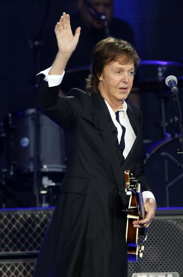 Paul McCartney plays at the Outside Lands festival in Golden Gate Park on Aug. 10. Photo: Ian C. Bates, The Chronicle