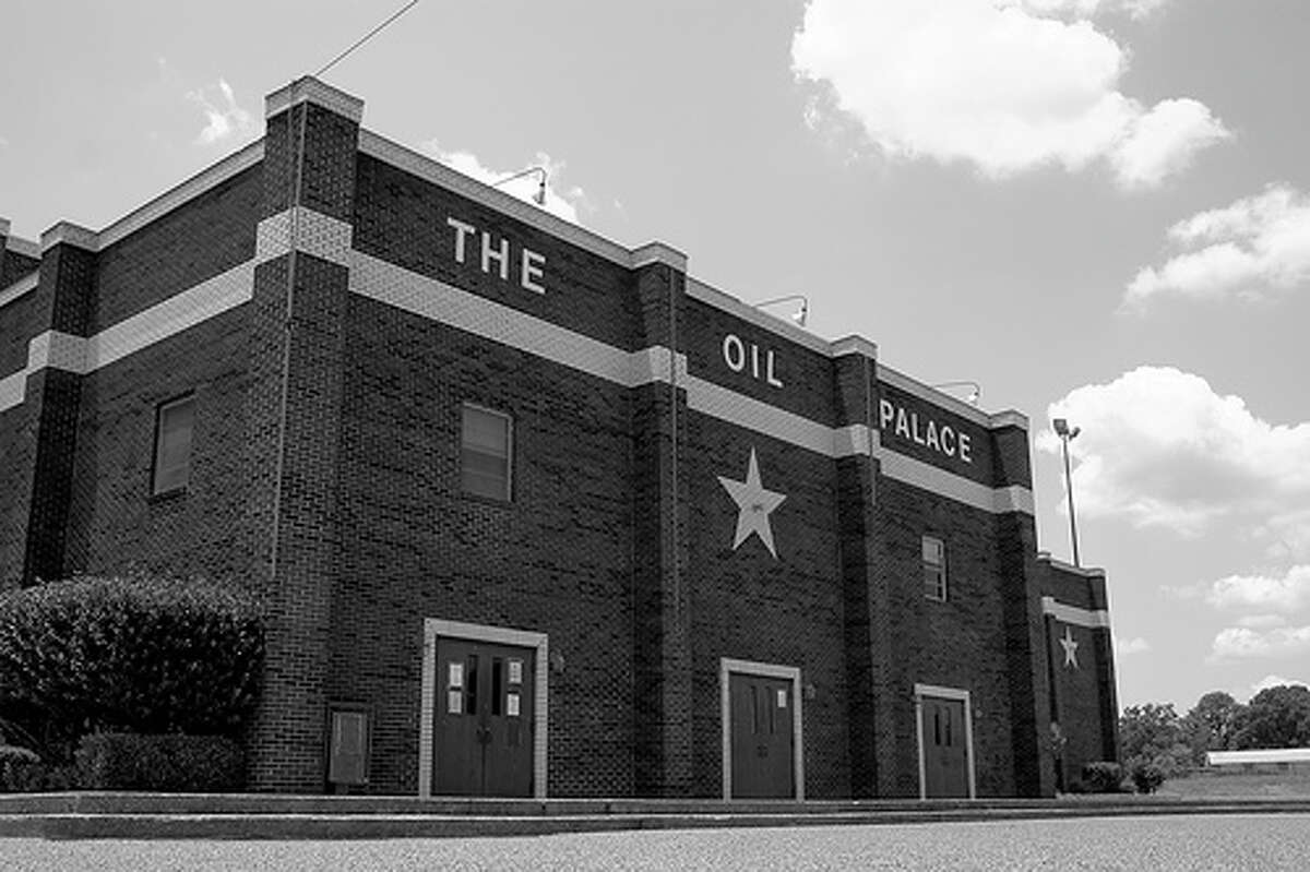 Johnny Manziel's great-grandfather used his oil wealth to build a coliseum - the Tyler Oil Palace.