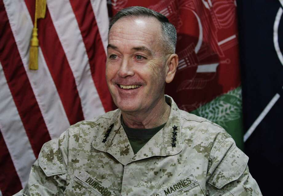 Gen. Joseph Dunford makes his case for the signing of a stalled bilateral security agreement.