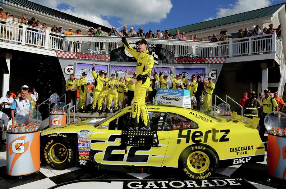 Brad Keselowski won the Nationwide Series race Saturday at Watkins Glen International. He could use a victory in Sunday's Sprint Cup race, too. Photo: Jerry Markland / Getty Images
