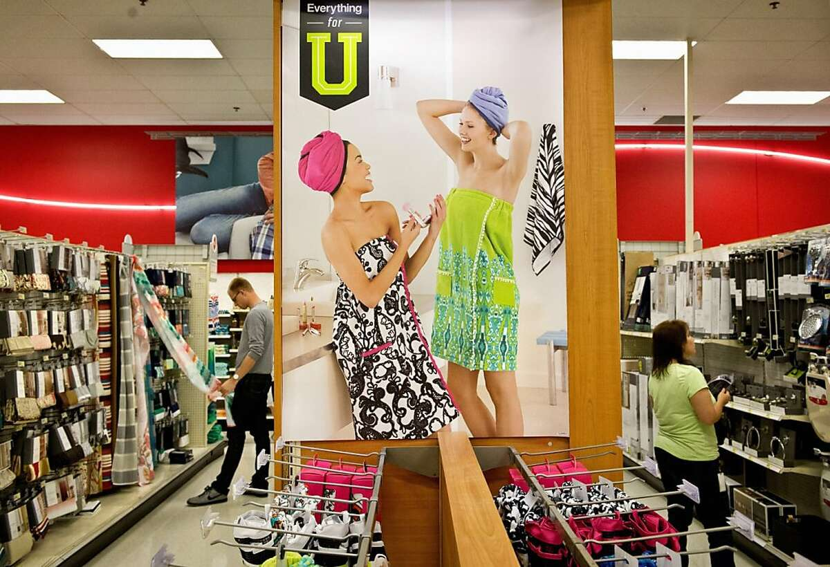 College-oriented merchandise line the aisles at the Target store on Nicollet Mall in Minneapolis, Minnesota. (Glen Stubbe/Minneapolis Star Tribune/MCT)