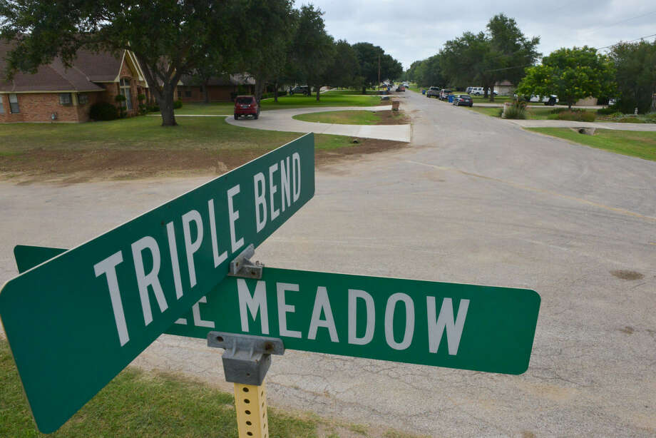 Triple Oaks subdivision is undergoing repairs, but residents say it's about favoring one subdivision over another. Photo: Robin Jerstad / For The San Antonio Express-News