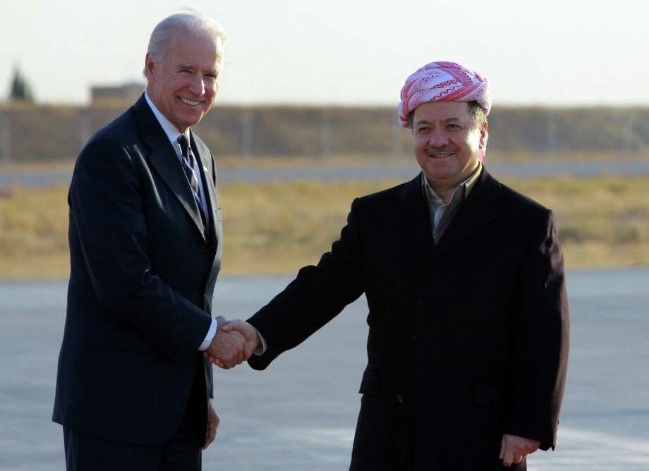 Massoud Barzani is president of the Iraqi Kurdistan Regional Government.
