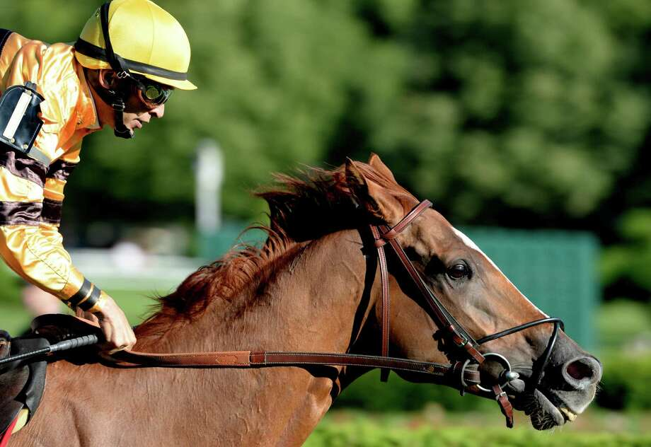 Wise Dan with jockey John Velazquez, left  went around the field in the 29th running of The Fourstardave Aug. 9, 2013, at Saratoga Race Course in Saratoga Springs, N.Y.   Second place went to King Kressa with jockey Irad Ortiz Jr.    (Skip Dickstein/Times Union) Photo: SKIP DICKSTEIN
