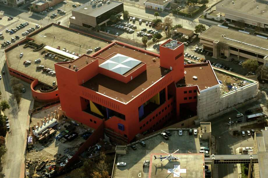 Central Library  600 Soledad St.Its bright red color was shocking at first, but now the library is just an intriguing part of the downtown skyline. Read more Photo: Billy Calzada, San Antonio Express-News / gcalzada@express-news.net