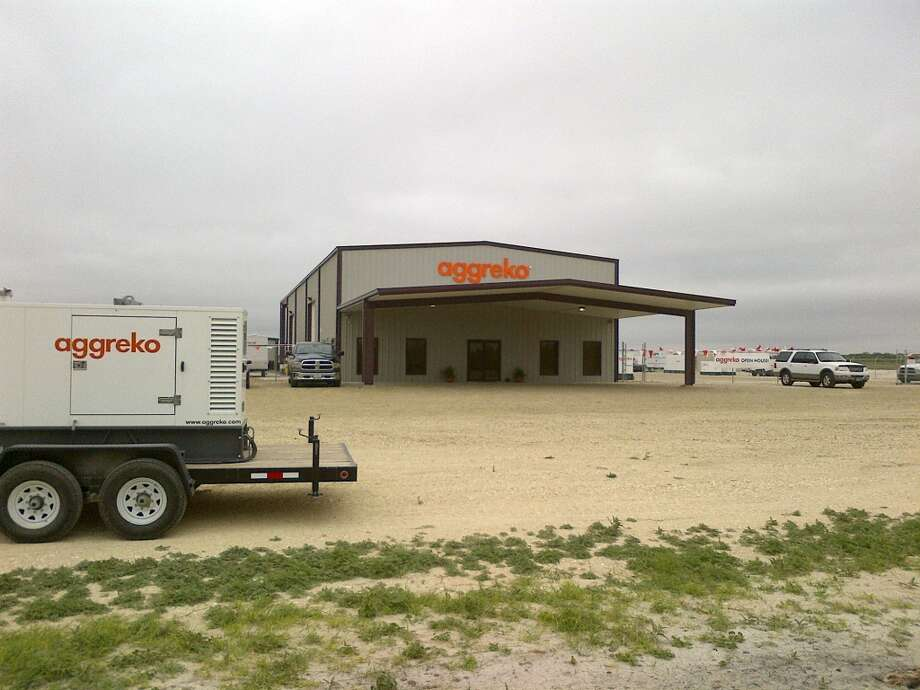 Temporary power supplier Aggreko opened a new facility in Three Rivers this spring to serve the Eagle Ford Shale. Photo courtesy Aggreko. Photo: Courtesy Aggreko
