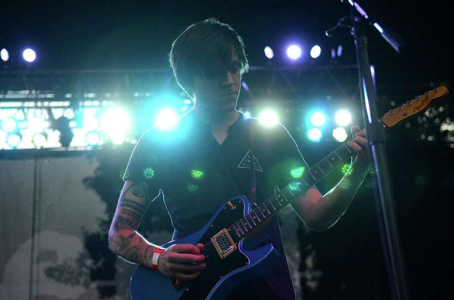 Thomas Fekete, guitarist of Surfer Blood, performs on stage at the 2013 107.7 The End's Summer Camp Saturday, Aug. 10, 2013, at Marymoor Park in Redmond. Photo: SY BEAN, SEATTLEPI.COM / SEATTLEPI.COM