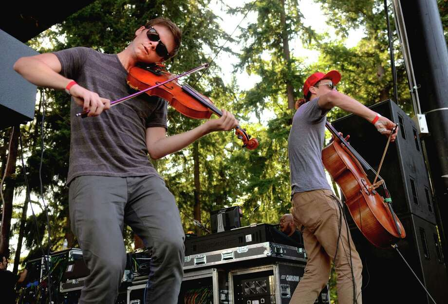 Jacob Anderson and Samuel Anderson of Hey Marseilles perform on stage at the 2013 107.7 The End's Summer Camp Saturday, Aug. 10, 2013, at Marymoor Park in Redmond. Photo: SY BEAN, SEATTLEPI.COM / SEATTLEPI.COM