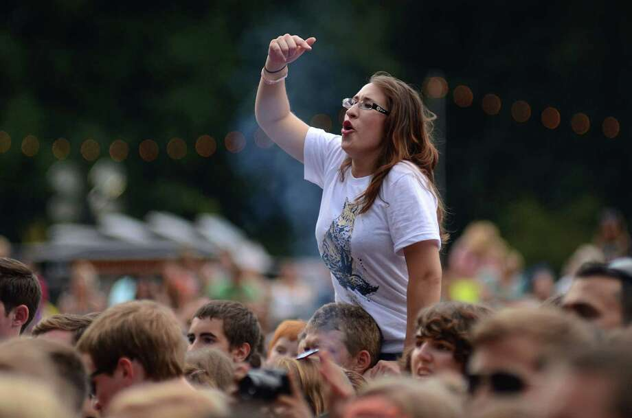 A fan rocks out to The Neighbourhood at the 2013 107.7 The End's Summer Camp Saturday, Aug. 10, 2013, at Marymoor Park in Redmond. Photo: SY BEAN, SEATTLEPI.COM / SEATTLEPI.COM