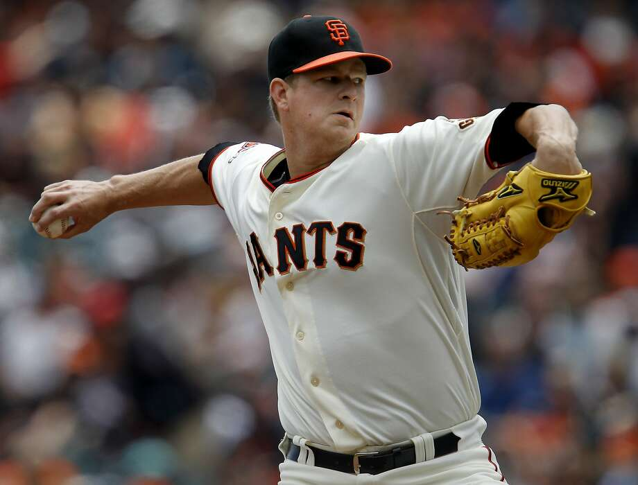 The Giants have no timetable for Matt Cain's return. Photo: Brant Ward, The Chronicle