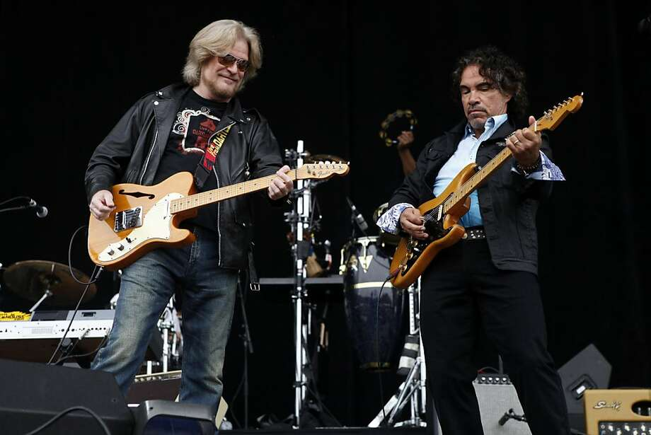 Daryl Hall and John Oates of Hall and Oates preform at the Outside Lands Festival in San Francisco, Calif. on Sunday, August 11, 2013. Photo: Katie Meek, The Chronicle
