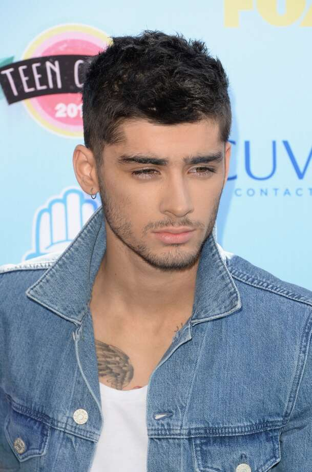 Singer Zayn Malik of One Direction attends the Teen Choice Awards 2013 at Gibson Amphitheatre on August 11, 2013 in Universal City, California.  (Photo by Jason Merritt/Getty Images) Photo: Jason Merritt, Getty Images