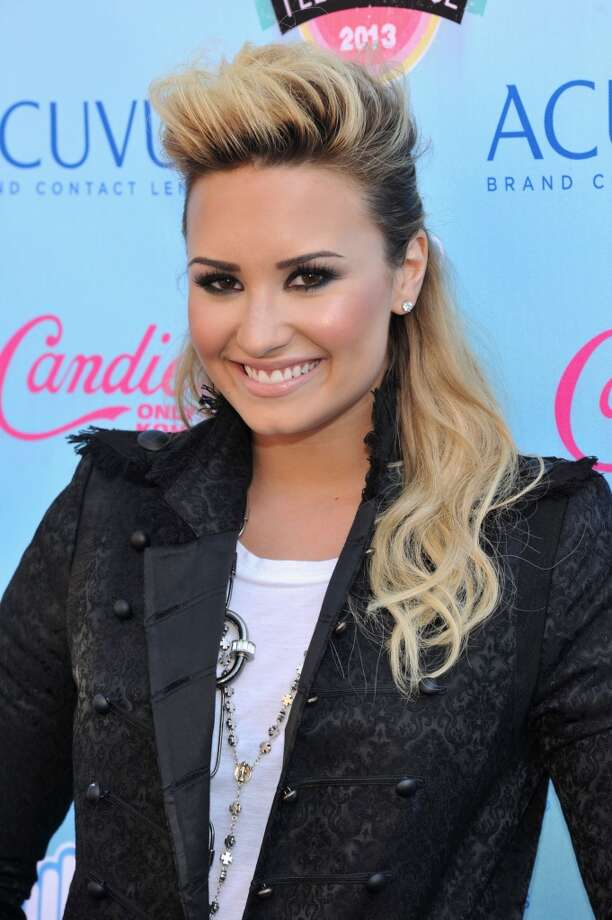 Singer/songwriter Demi Lovato attends the 2013 Teen Choice Awards at Gibson Amphitheatre on August 11, 2013 in Universal City, California.  (Photo by Kevin Mazur/WireImage) Photo: Kevin Mazur, WireImage