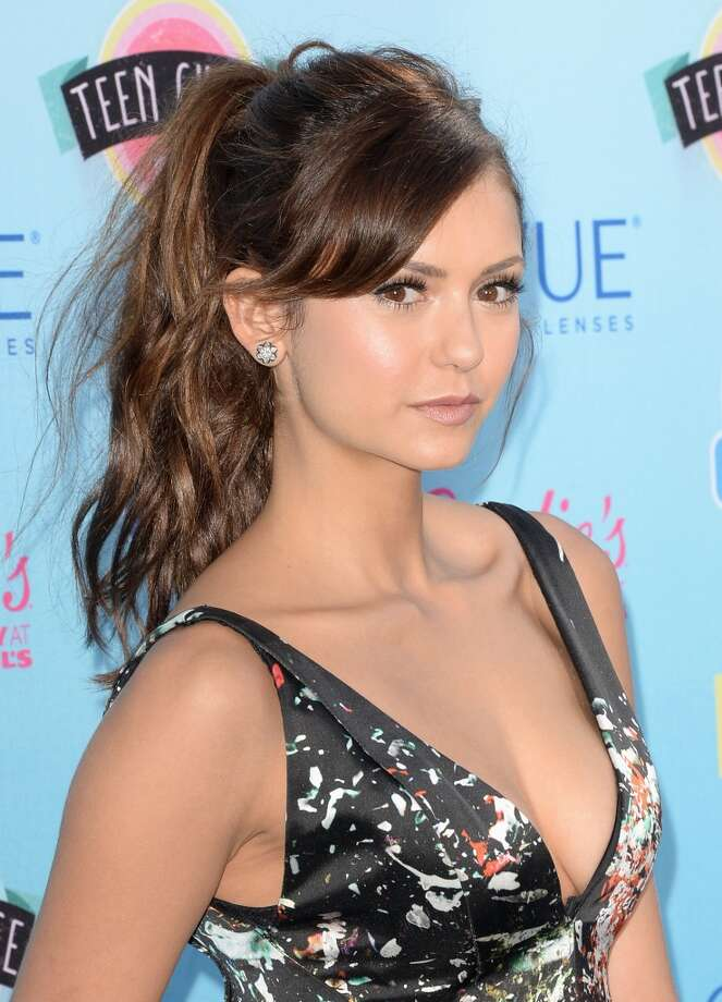 Actress Nina Dobrev attends the Teen Choice Awards 2013 at Gibson Amphitheatre on August 11, 2013 in Universal City, California.  (Photo by Jason Merritt/Getty Images) Photo: Jason Merritt, Getty Images
