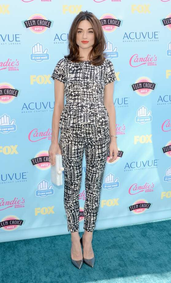Actress Crystal Reed attends the Teen Choice Awards 2013 at Gibson Amphitheatre on August 11, 2013 in Universal City, California.  (Photo by Jason Merritt/Getty Images) Photo: Jason Merritt, Getty Images