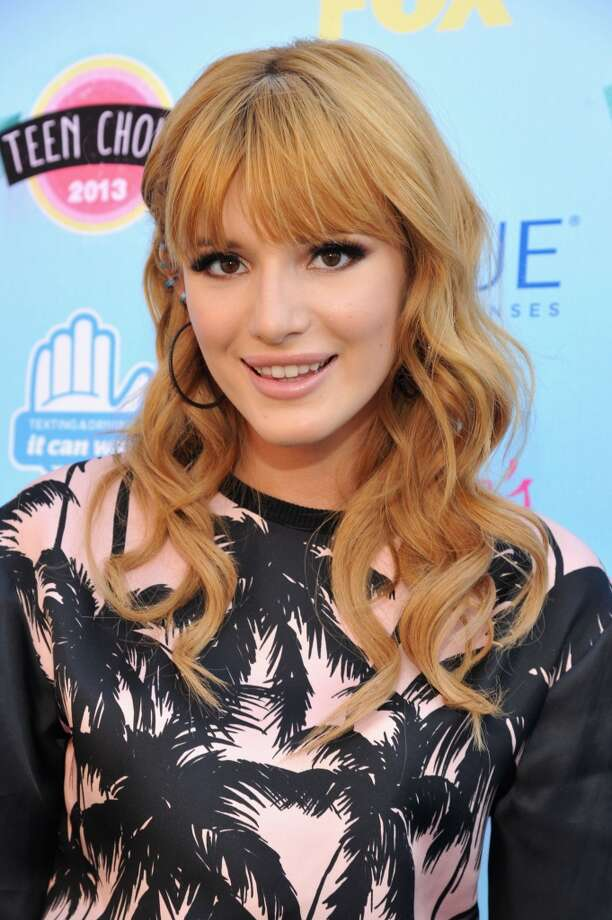 Actress Bella Thorne attends the 2013 Teen Choice Awards at Gibson Amphitheatre on August 11, 2013 in Universal City, California.  (Photo by Kevin Mazur/WireImage) Photo: Kevin Mazur, WireImage